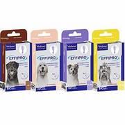 Antiparasitario Effipro para perros, mata pulgas y garrapatas