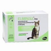 Antiparasitario Eliminall contra pulgas, garrapatas y piojos.