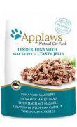 Applaws pouch con gelatina de atún y caballa para gatos