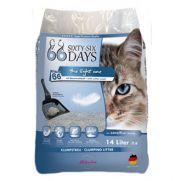 Arena aglomerante para gatos, dura 66 días y ecológica