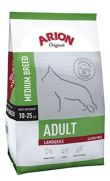 Arion Original adult medium lamb rice, con 26% de cordero