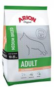 Arion Original adult medium salmon rice, con sensibilidad digestiva