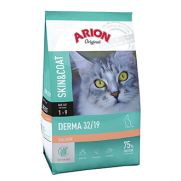 Arion Original cat derma, alimento con 38% de salmón para gatos adultos