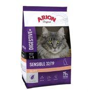 Arion Original cat sensible salmon, pienso para gato adulto con sensibilidad digestiva