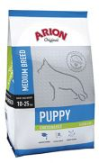 Arion Original puppy medium chicken rice, 52% pollo