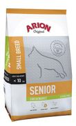 Arion Original senior small breed chicken rice, 40% de pollo