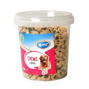 Duvo golosinas para perros, soft chew love