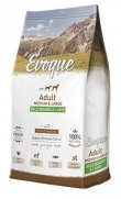 Evoque adult medium large wild boar and lamb, con 25% de carne fresca
