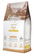Evoque adult mini chicken and turkey, con carne de pavo 25%