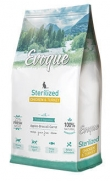 Evoque cat sterilized chicken and turquey, 25% de carne fresca