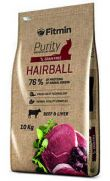 Fitmin Purity cat hairball, con carne de vaca e hígado fresco 50%