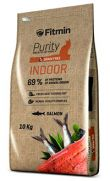 Fitmin Purity indoor para gatos, 45% pescado fresco