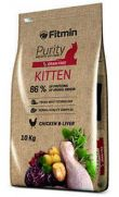 Fitmin Purity cat kitten, alimento con 20% carne pollo fresco