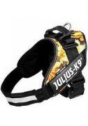 Julius-K9 arnés idc color camuflaje, con alta visibilidad