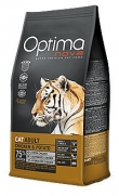 Optima nova adult cat chicken and potato, sin cereal y 75% de pollo