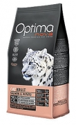 Optima nova cat adult salmon and potato, rico en omega 3 y 6