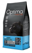 Optima nova light pollo y arroz para gatos adultos gorditos