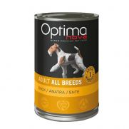 Optima nova adult all breeds duck, para todas las razas con pato