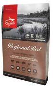 Orijen regional red, piensos para perros con carne de res, jabalí y bisonte
