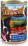 Prince latita de jabalí (42%) y caballo (20%)
