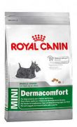 Royal Canin mini dermacomfort, para perros con piel sensible
