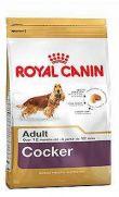 Royal Canin raza cocker adulto y maduro más de 12 meses de edad