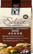 Select adult large breed, para perros con 37% de pollo y 26% de arroz