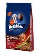 Brekkies delicious buey para perros adultos de cualquier tamaño