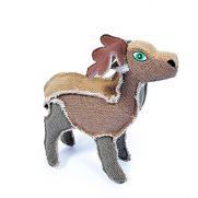 Duvo canvas deer, juguete con forma de ciervo para perros