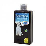 Duvo champú para perros de todas las razas con pelo blanco