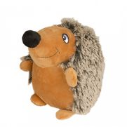 Duvo juguete con forma de erizo para perro, peluche suave con sonido