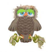 Duvo canvas owl, juguete para perro con aspecto de búho