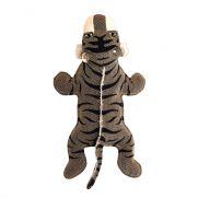 Duvo canvas tiger, juguete de lona con forma de tigre
