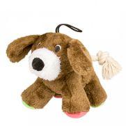 """Duvo juguete para perro, peluche con forma de perrito y sonido de """"pip"""""""