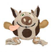 Duvo plush cow, juguete para perros con aspecto de vaca
