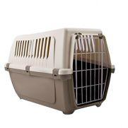 Duvo transportín con puerta metálica para mascotas