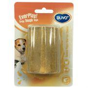 Duvo yummy juguete para cachorro con forma de hueso sabor a queso