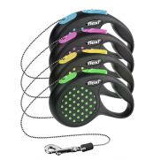 Flexi design correa extensible con cordón para perros