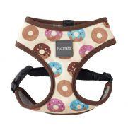 FuzzYard harness go nuts, arnés para perros con dibujo de donut