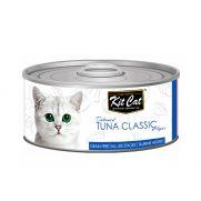 Kit cat comida húmeda para gato con gelatina y atún