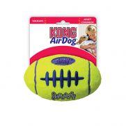 Kong air squeaker football dog, no daña los dientes del perro