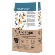 Natura Diet grain free salmon, pienso para perros adultos con salmón