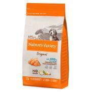 Natures variety original junior pienso de salmón y sin cereal