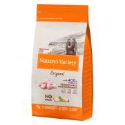 Natures variety original sin cereal para perro adulto mediano de pavo