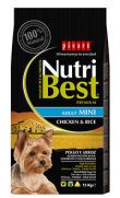 Nutri Best adult mini chicken, con pollo para perros