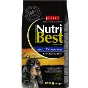 Nutribest adult senior, para perros maduros, con vitaminas y minerales