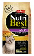 Nutribest cat adult chicken and rice, pienso de pollo para gatos