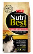 Nutribest cat adult sensitive, pienso de salmón para gatos