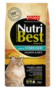 Nutribest cat adult sterilised, pienso con salmón para gatos