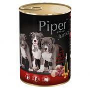Piper animals para cachorros con corazón de ternera